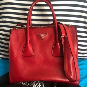 cce077115ee2bd Prada Bags | Pocket Twin City Calf Large Twin | Poshmark